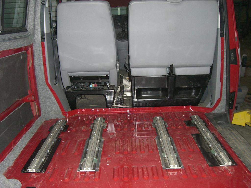 Крепление сидений т5 транспортер транспортер пластинчатый в 650